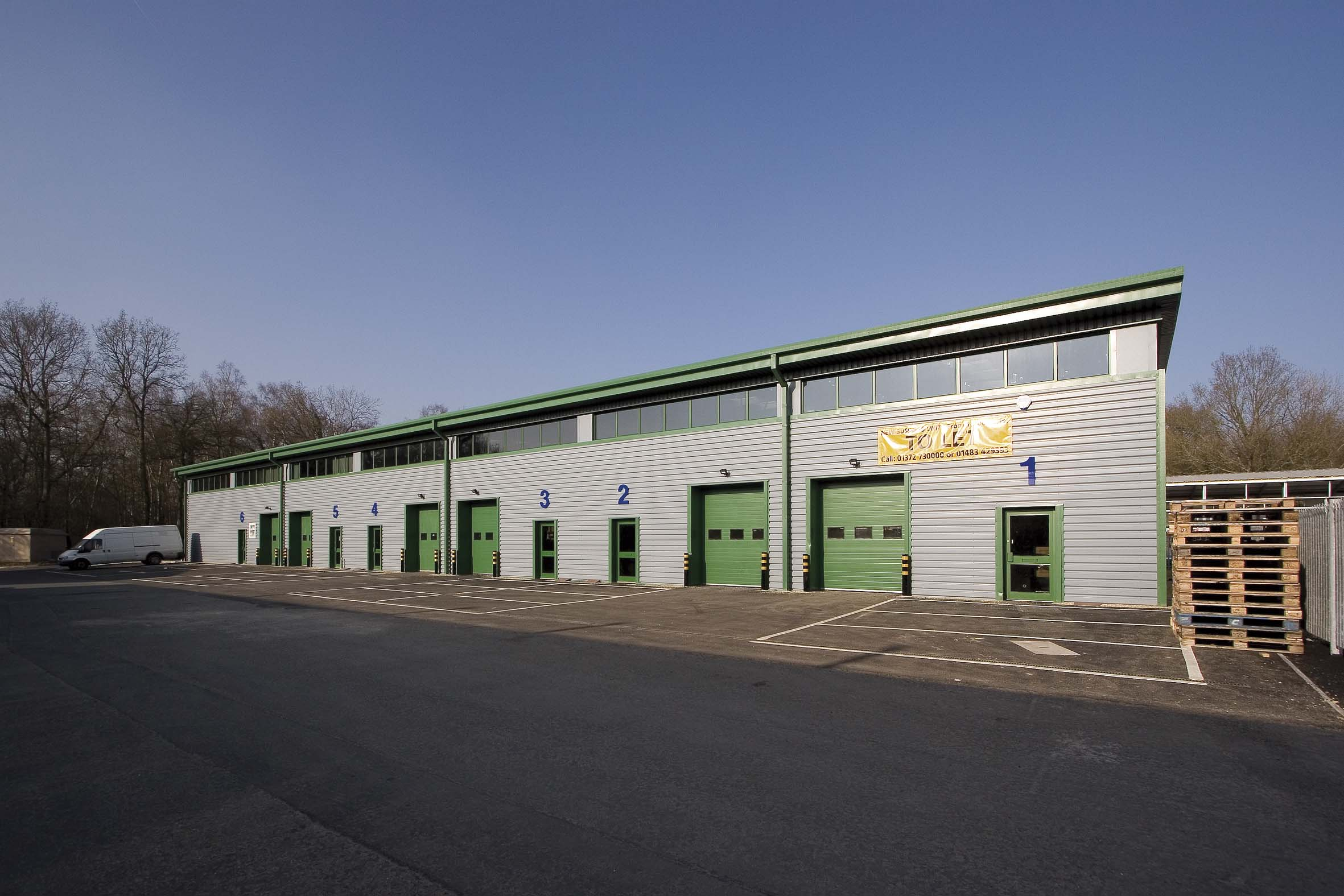 COOPERS PLACE BUSINESS PARK, Wormley, Near GODALMING - LETTINGS