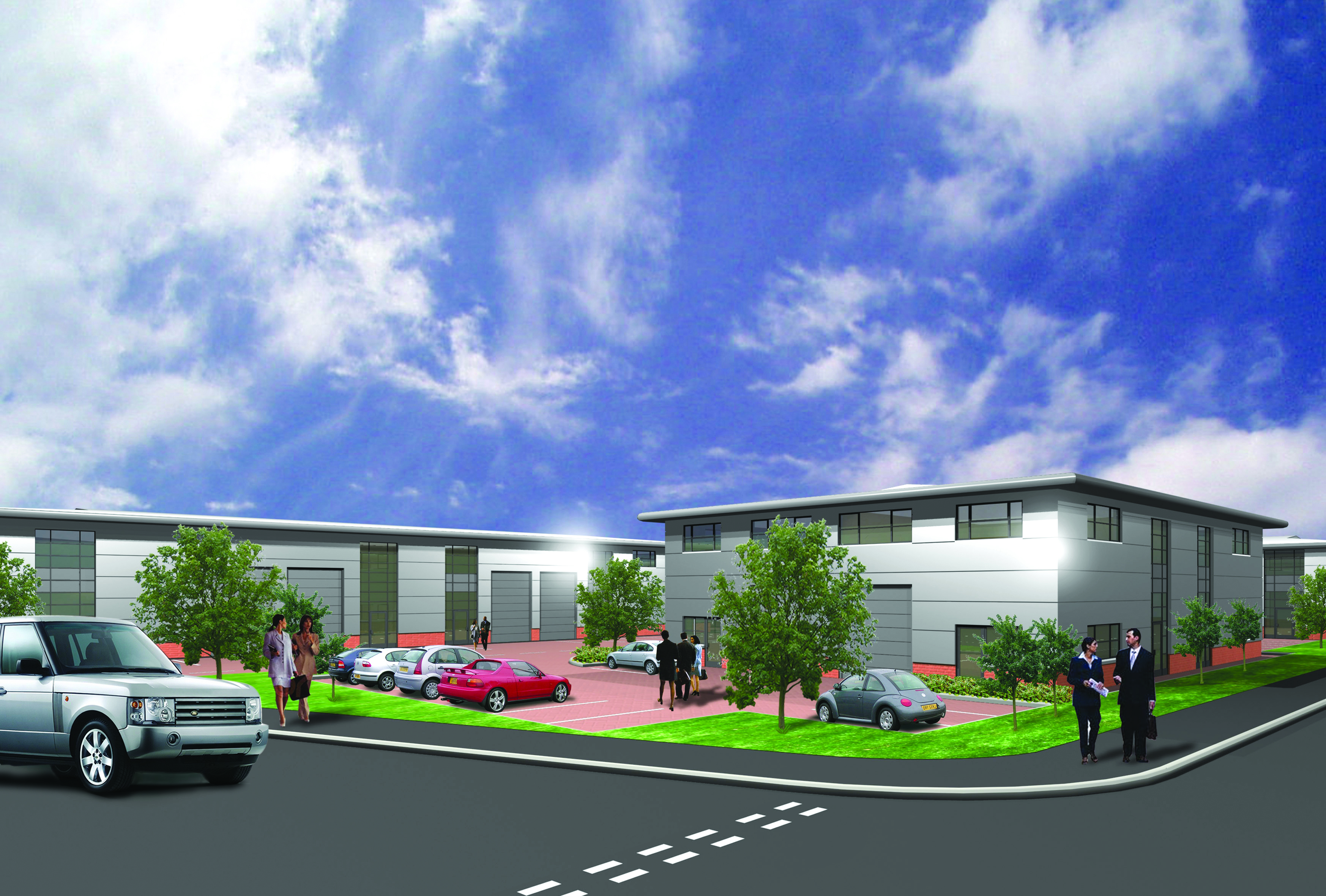 DEVONSHIRE BUSINESS PARK, Knights Park Road, BASINGSTOKE - SALE & LETTINGS