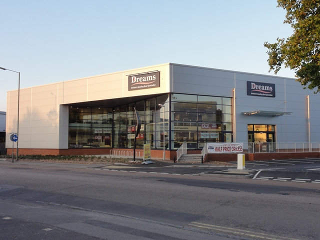RETAIL WAREHOUSE, WOODBRIDGE ROAD, GUILDFORD - SOLD TO WREN KITCHENS