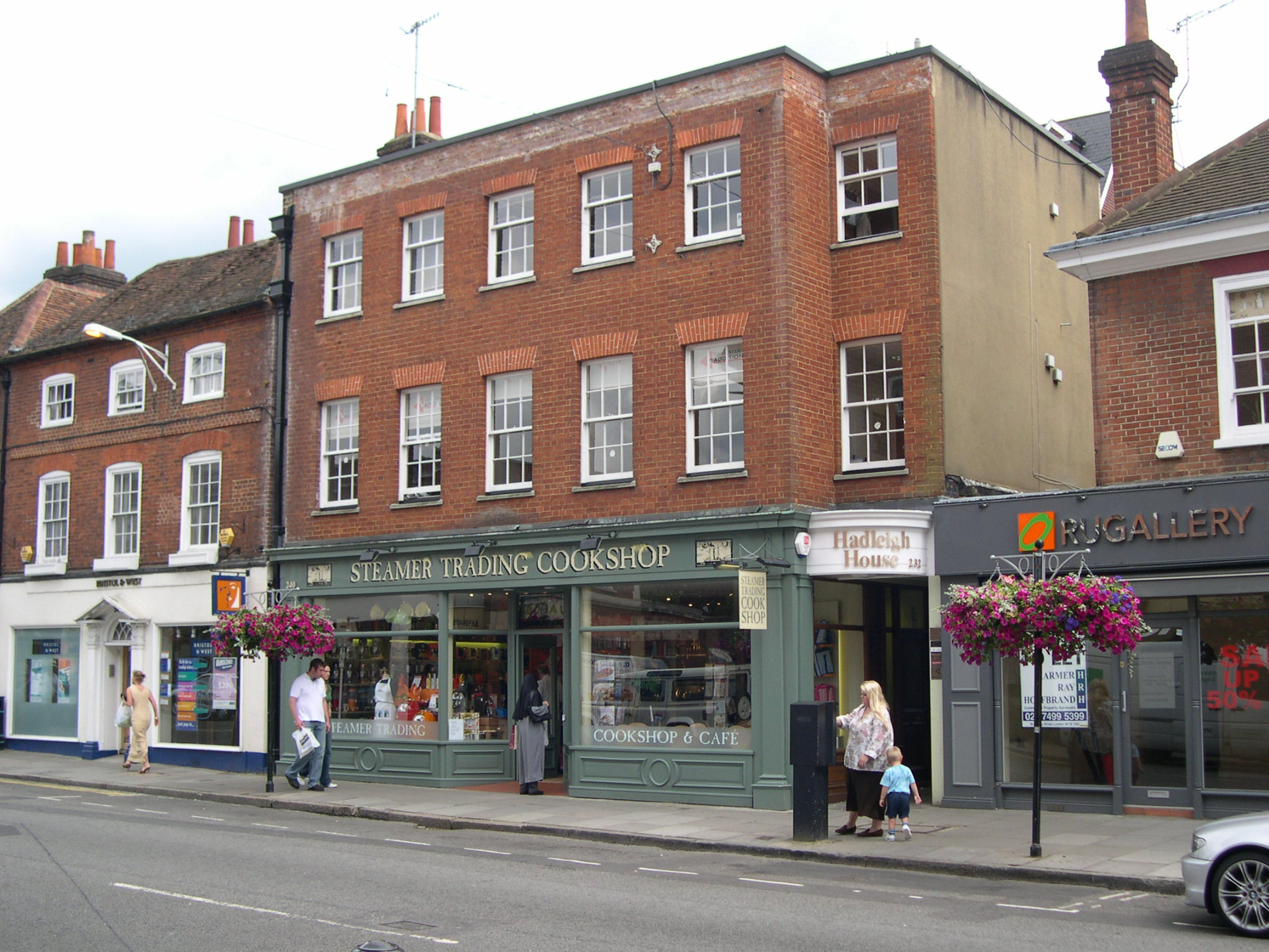 HADLEIGH HOUSE, 232 High Street, GUILDFORD - 1ST & 2ND FLOOR OFFICES - LETTING