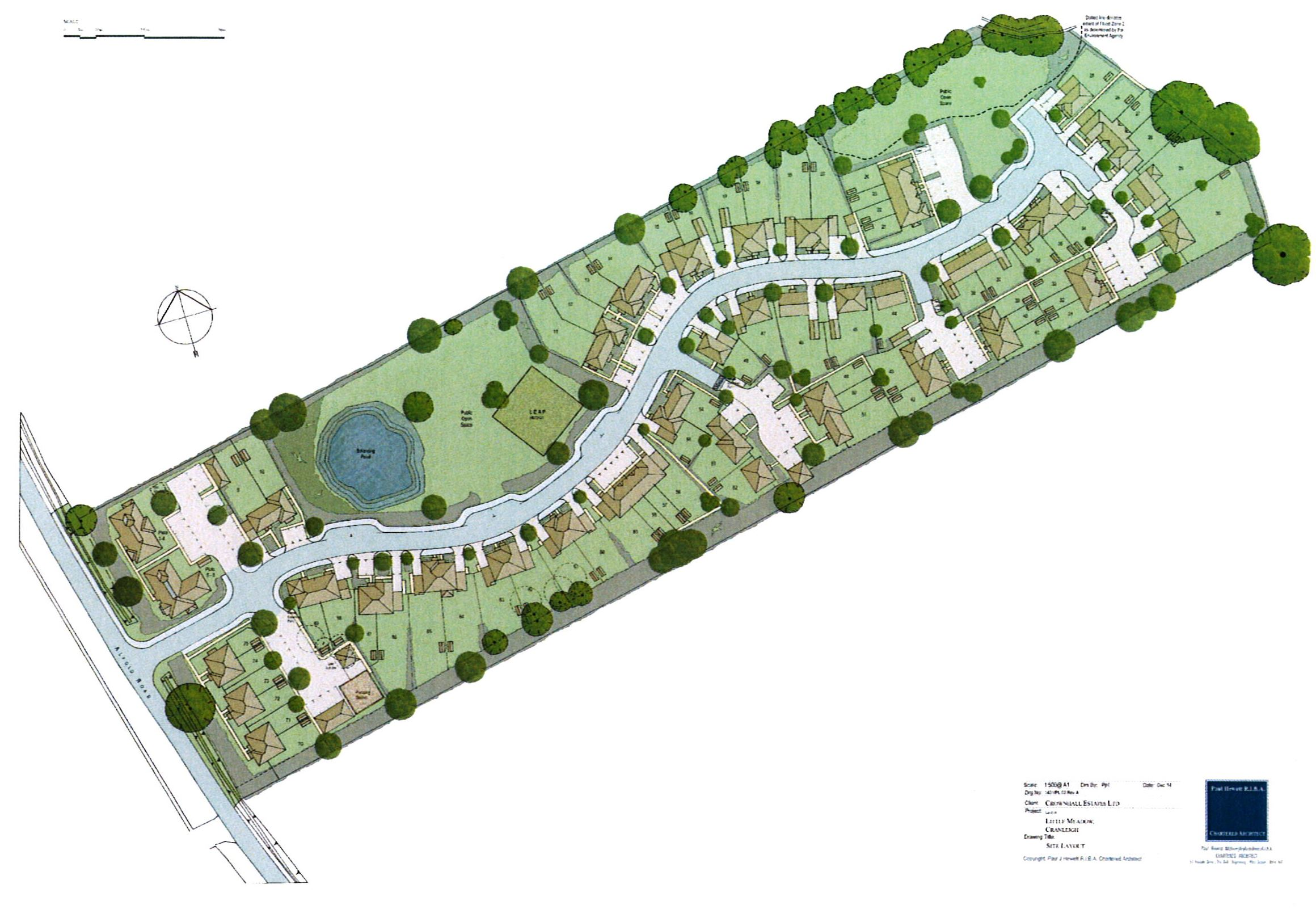 LAND AT LITTLE MEADOW, ALFOLD ROAD, CRANLEIGH