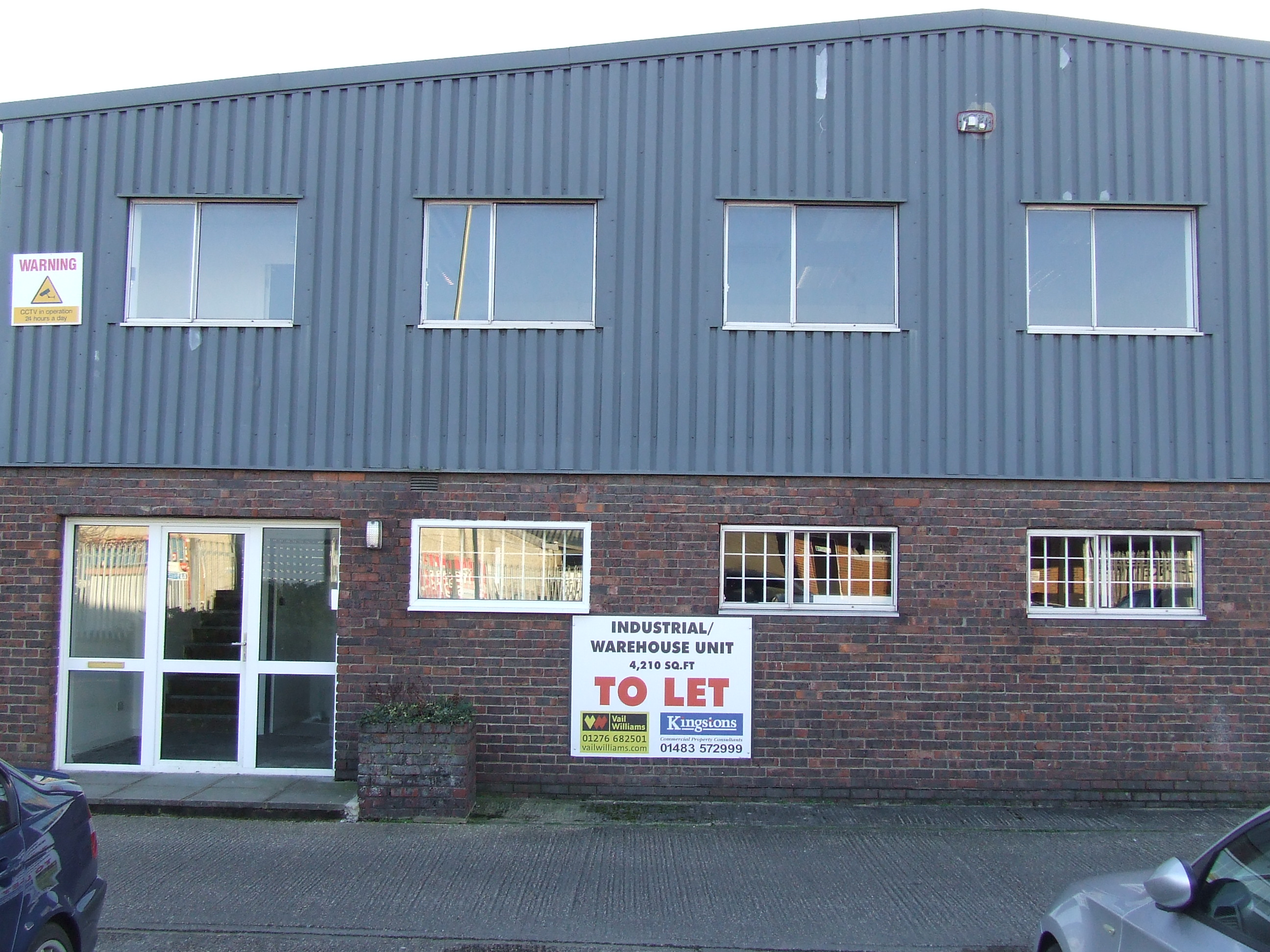 UNIT B MANAWEY INDUSTRIAL ESTATE, ALDERSHOT